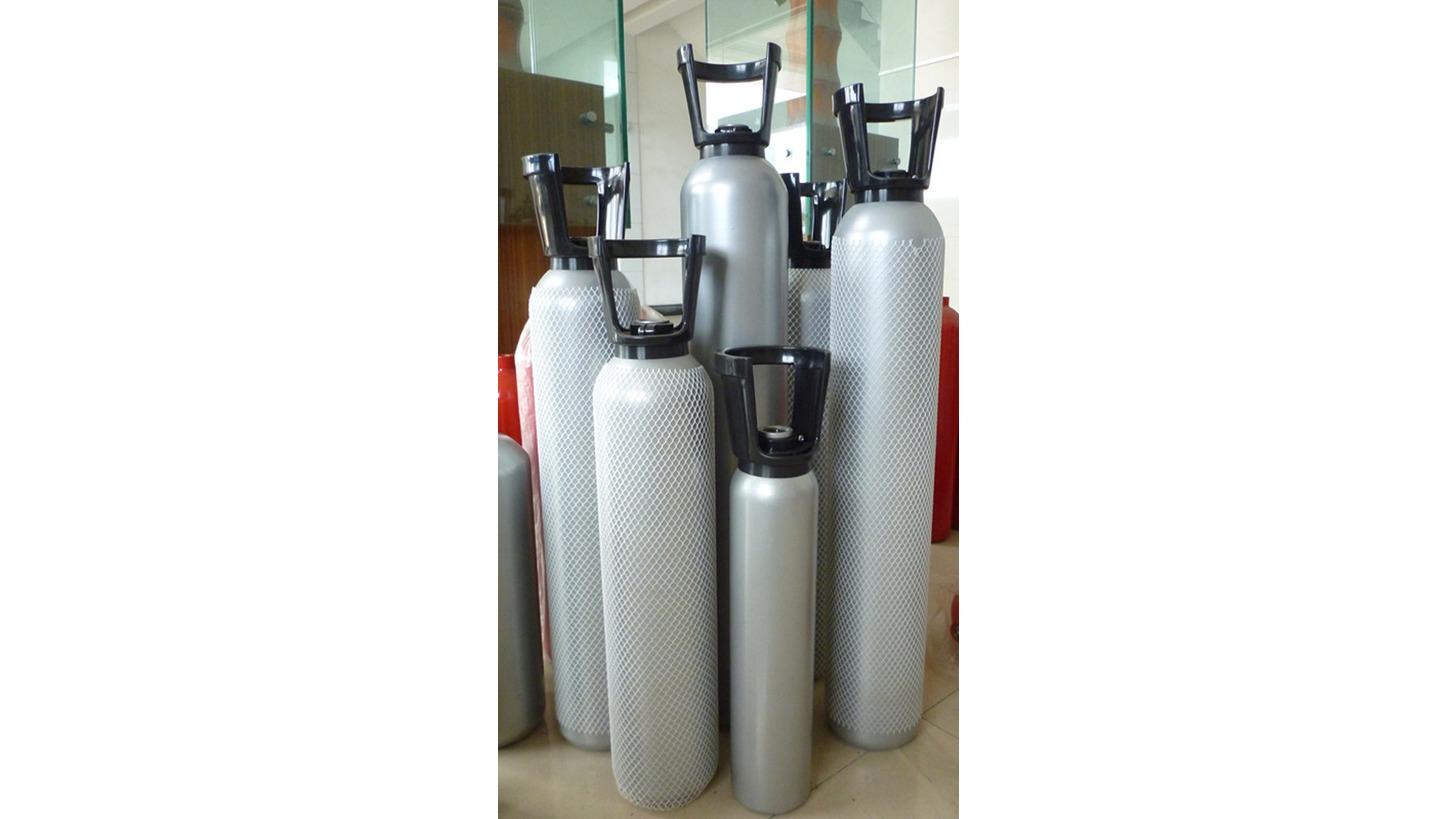 Logo TPED High Pressure Gas Cylinder