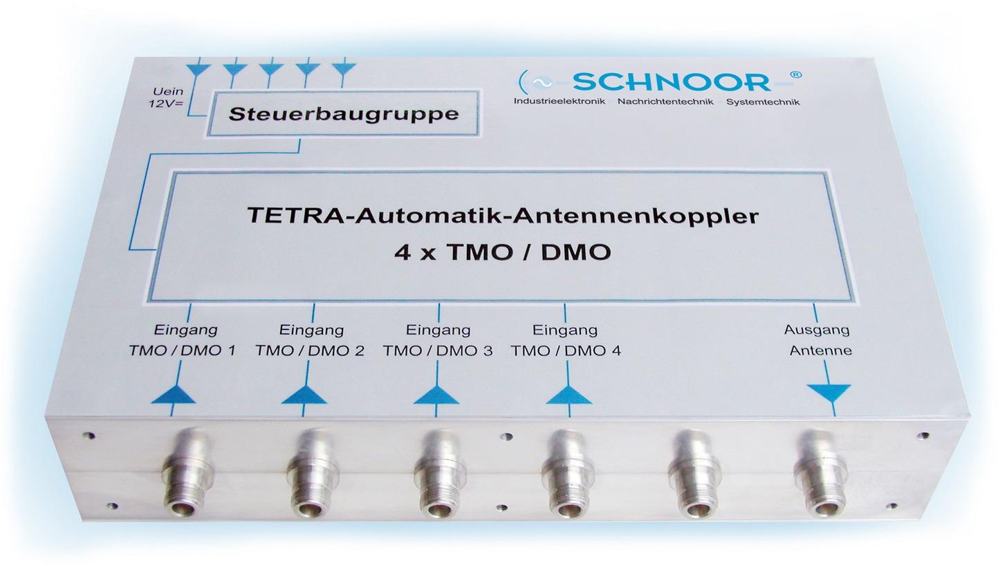 Logo TETRA Automatic Coupler 4 x TMO / DMO