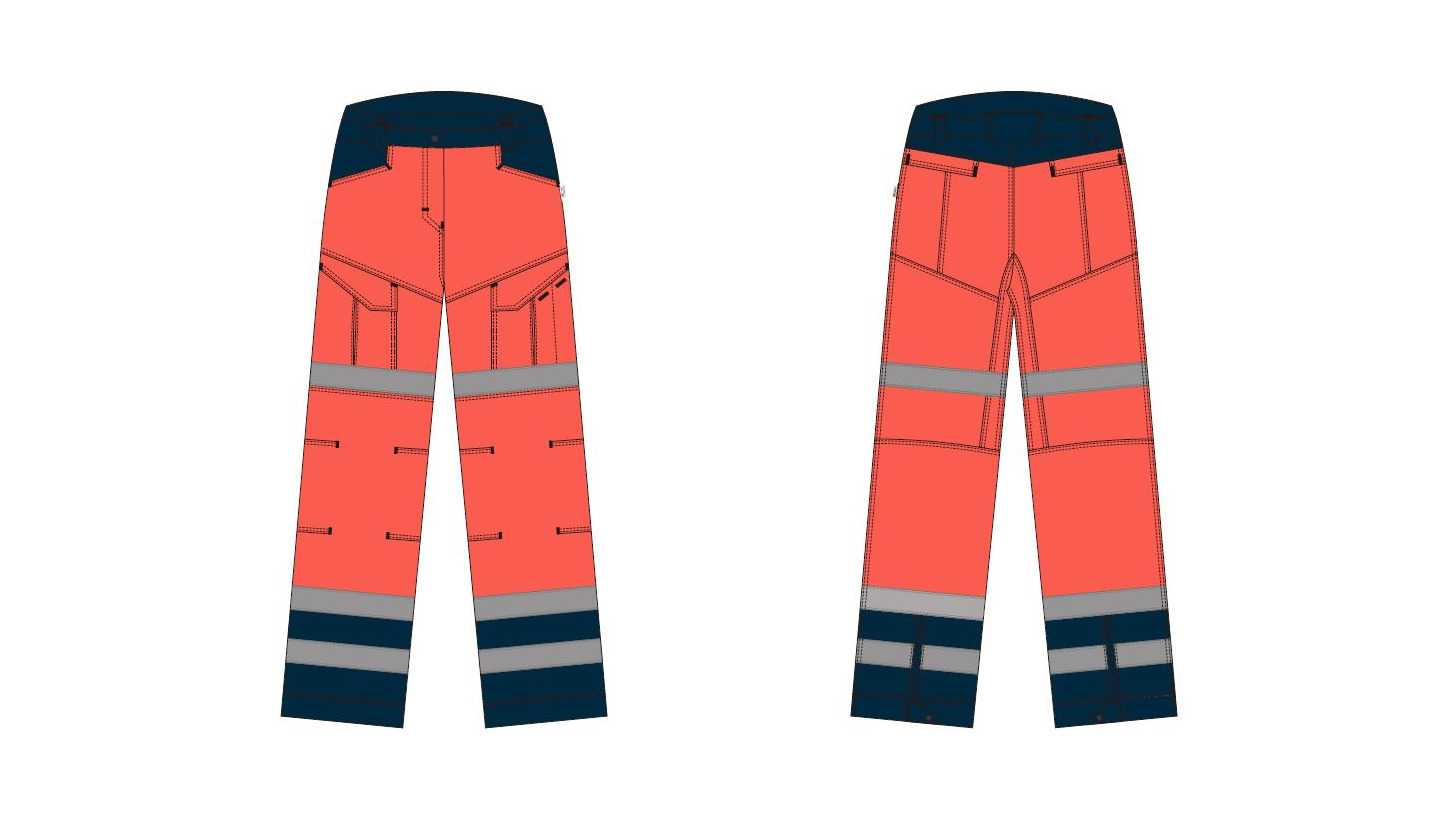 Logo Trousers womens - Paramedic