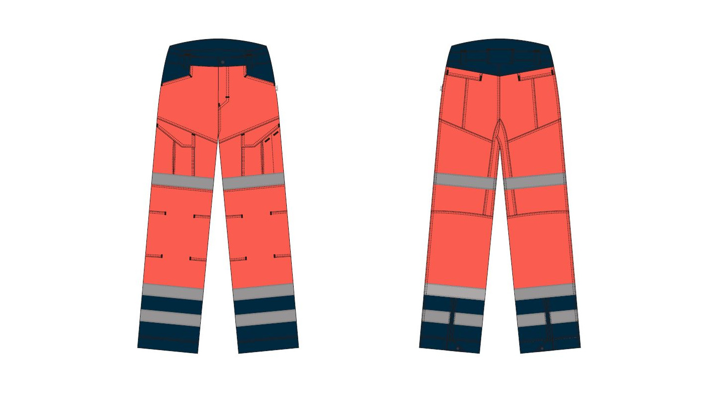 Logo Trousers mens - Paramedic