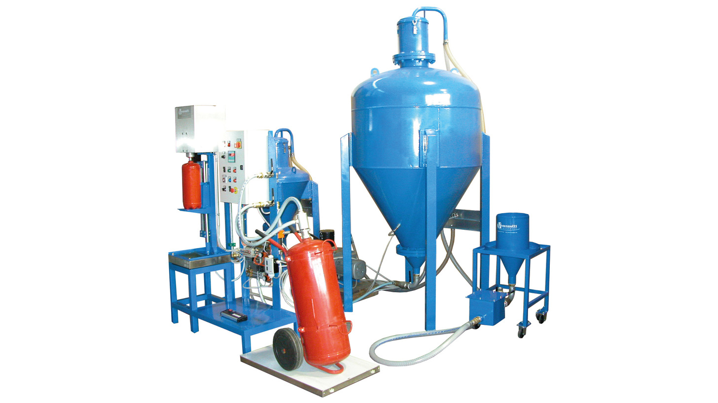 Logo AUTOMATIC FILLING STATION FOR POWDER EXTINGUISHERS