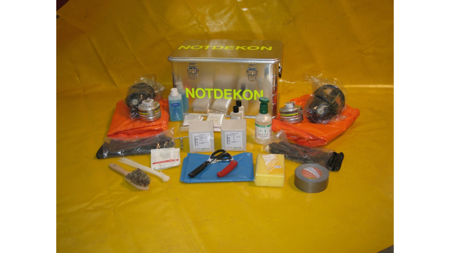 Logo Emergency Decontamination Kit