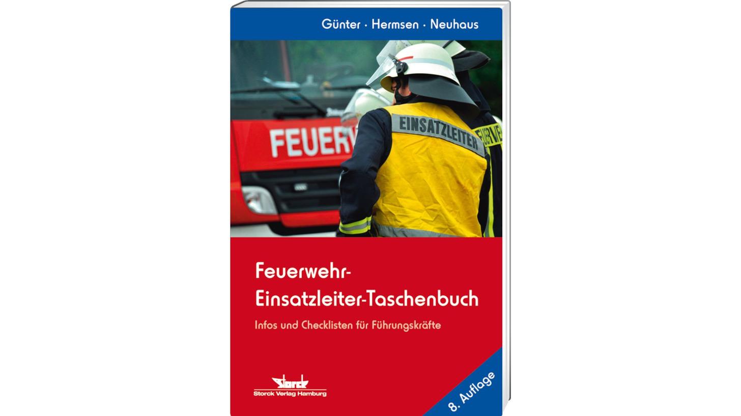 Logo Feuerwehr Einsatzleiter Taschenbuch D