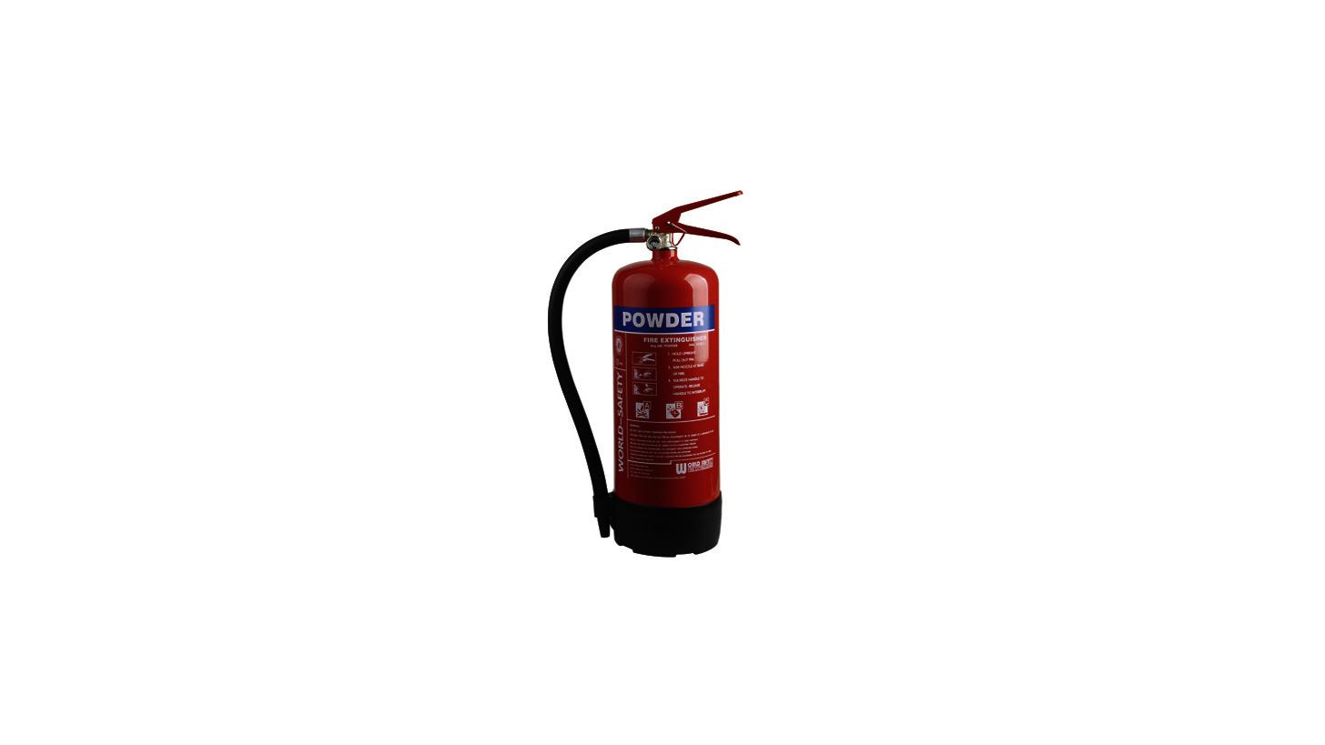 Logo 4kg Powder Fire Extinguishers