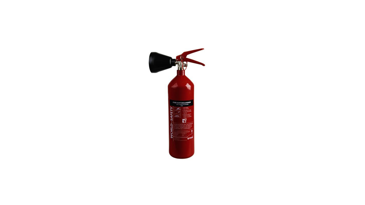Logo 2kg Carbon Dioxide Fire Extinguishers
