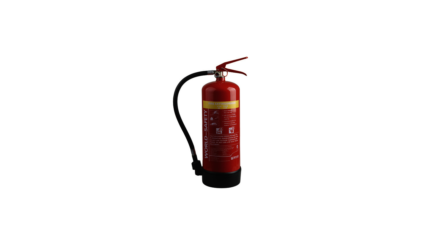 Logo 6L Foam Fire Extinguishers