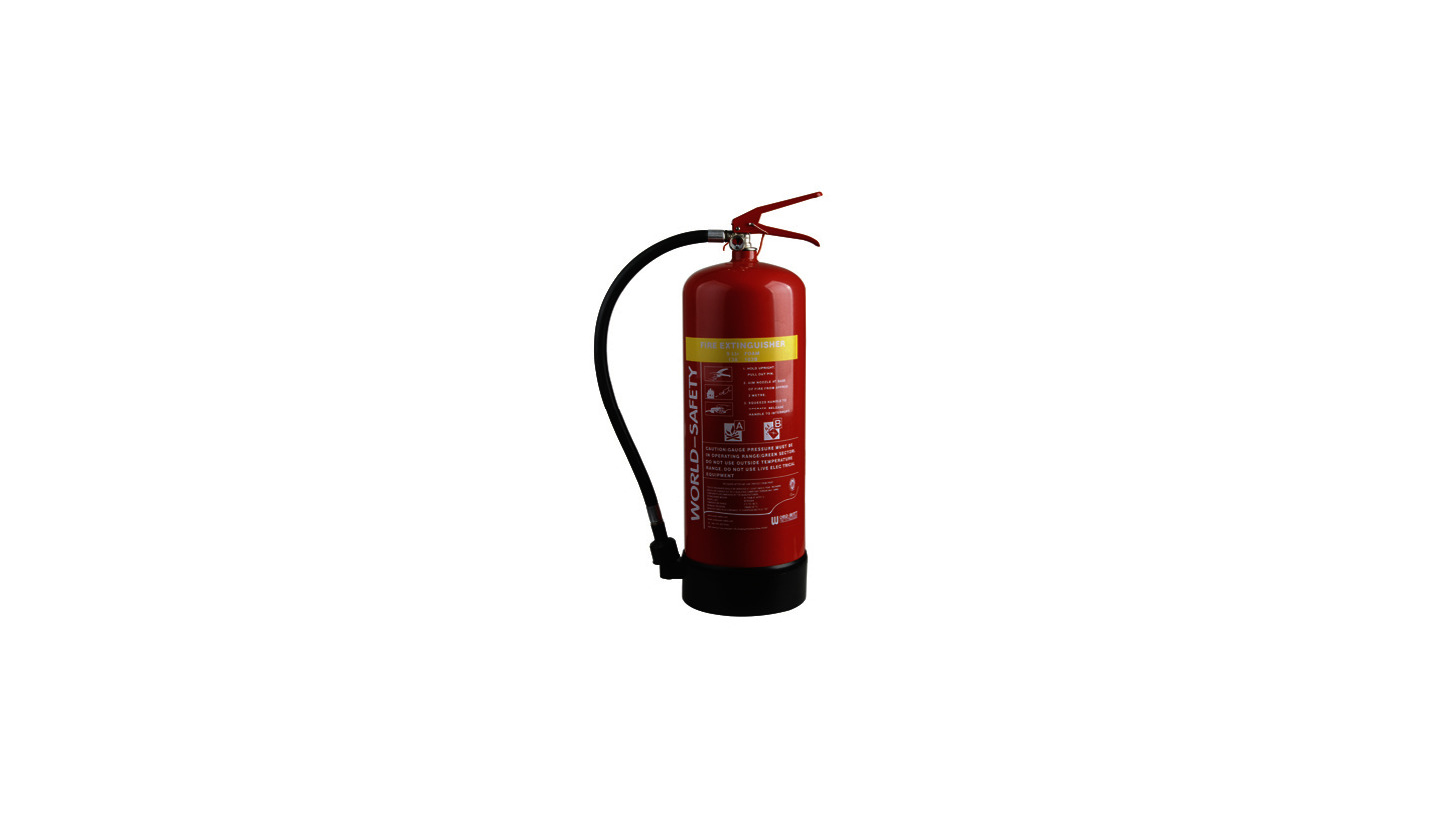 Logo 9L Foam Fire Extinguishers