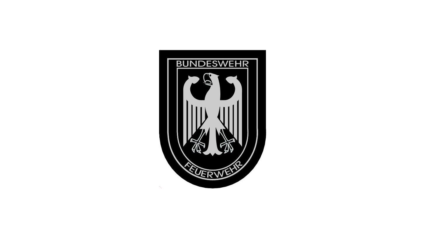 Logo Bundeswehrfeuerwehr