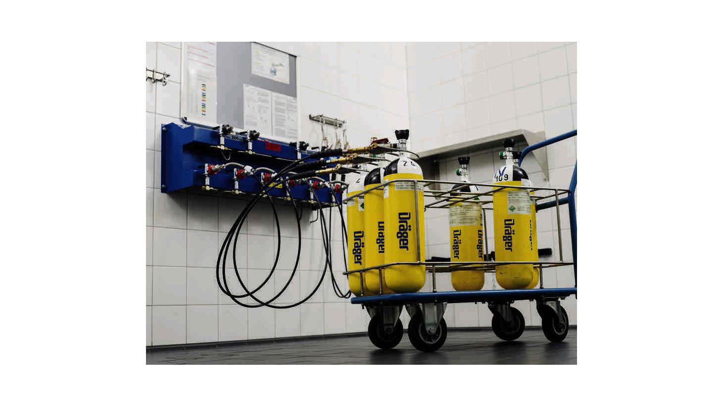 Logo Dräger Compressed Air Breathing Cylinder