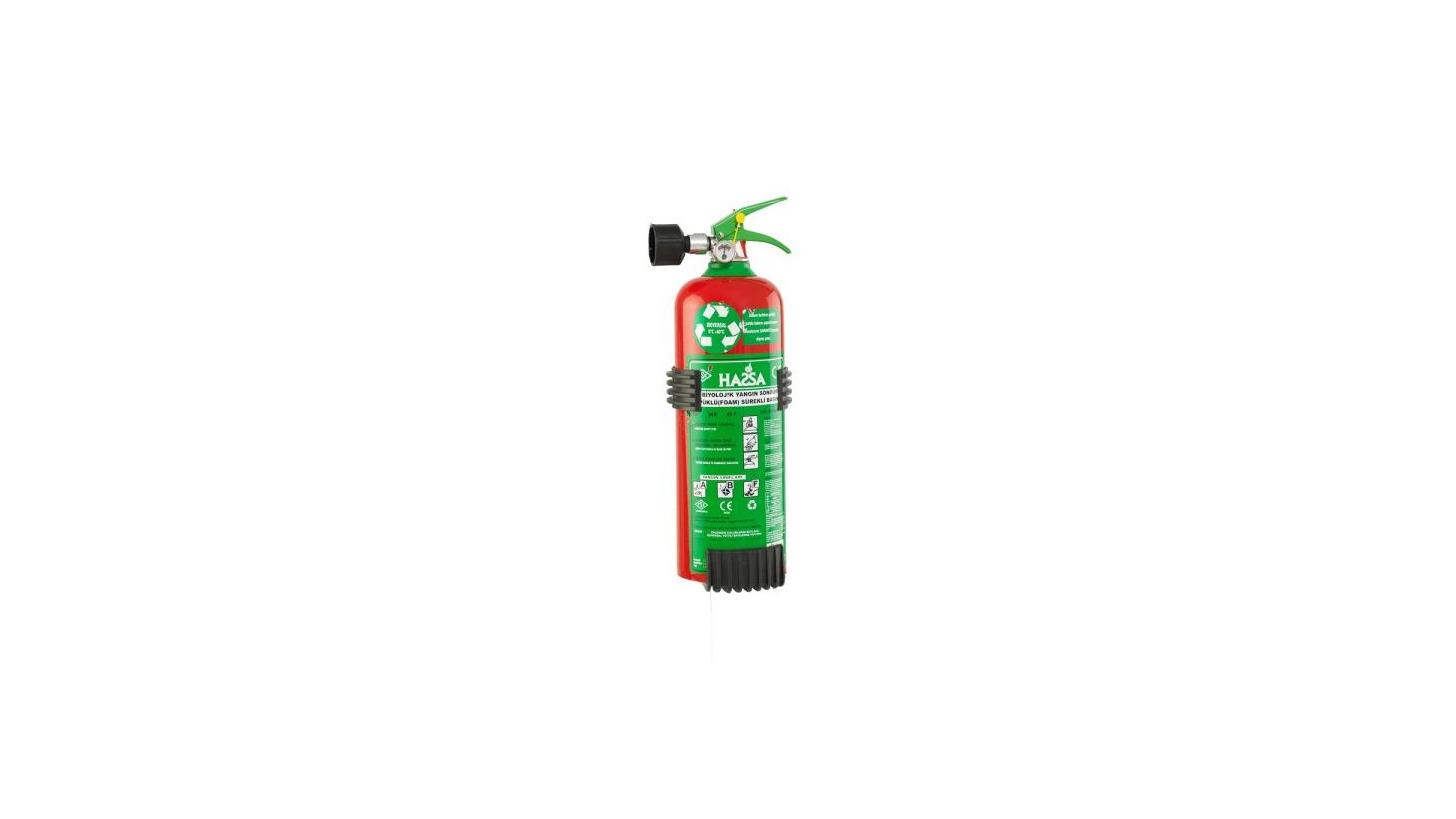 Logo Biological Foam Portable Extinguisher