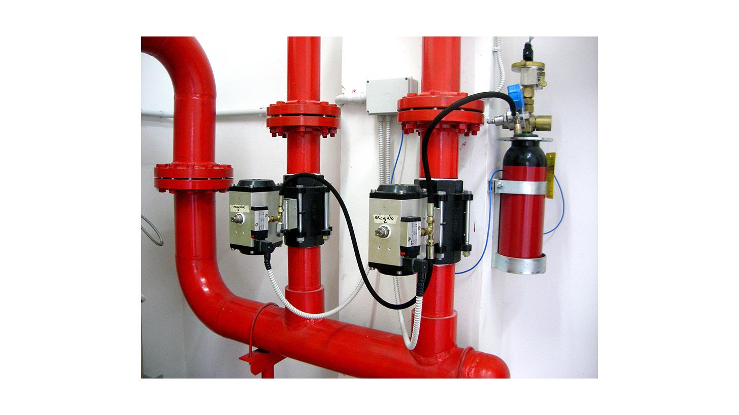Logo Novec 1230 fluid firefighting system
