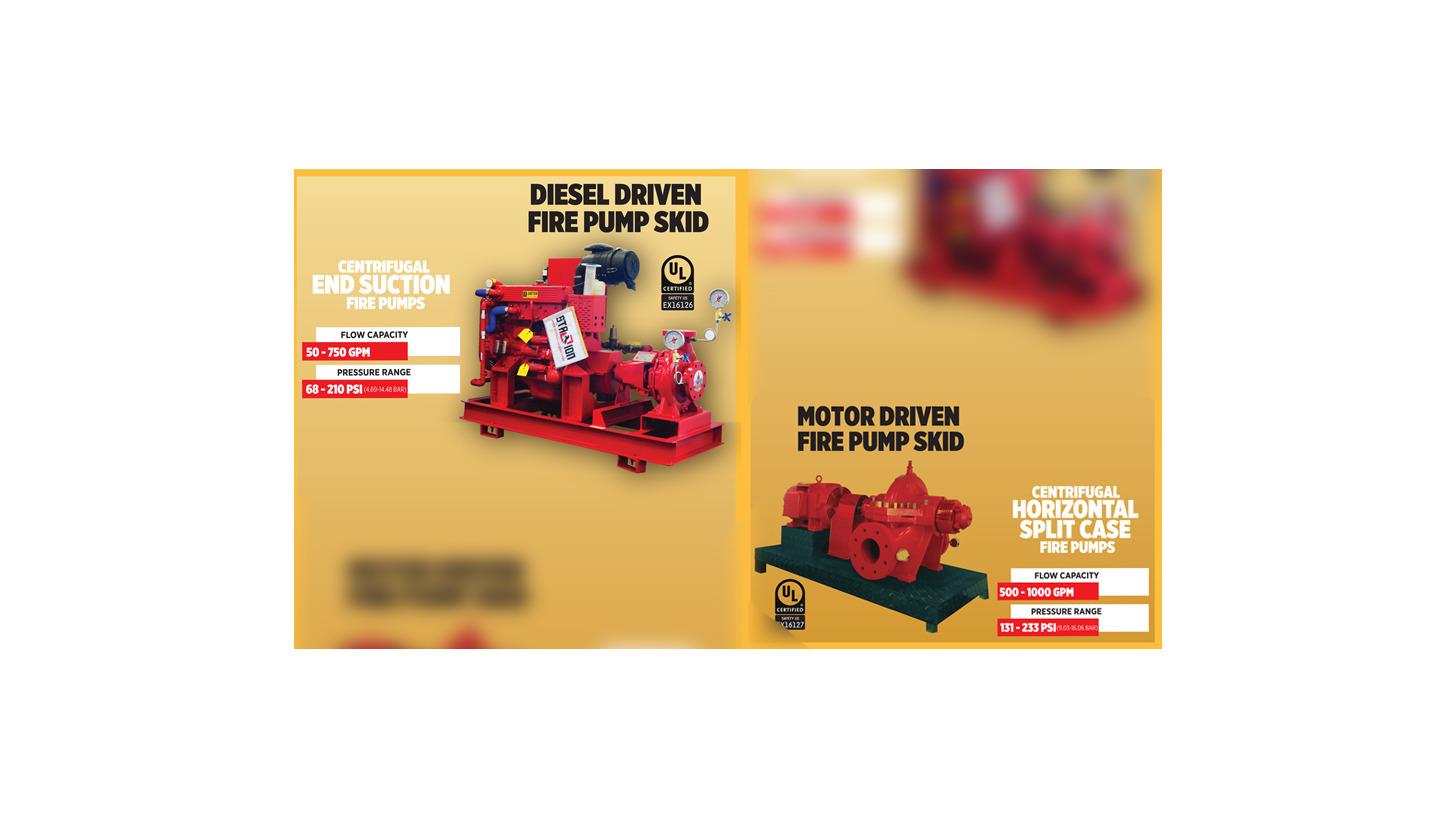 SFFECO Certified Fire Pump System - Product - INTERSCHUTZ 2015