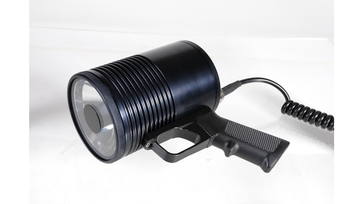 Logo HID Xenon Handheld spotlight
