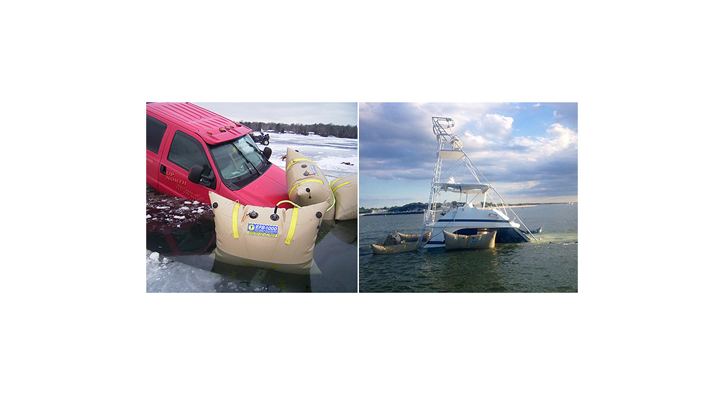 Logo Underwater Recovery system