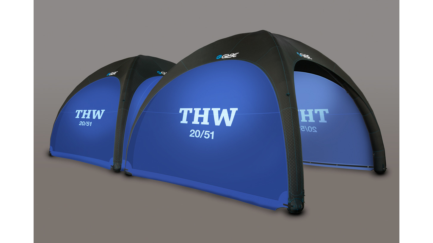 Logo Gybe Humanity Tents