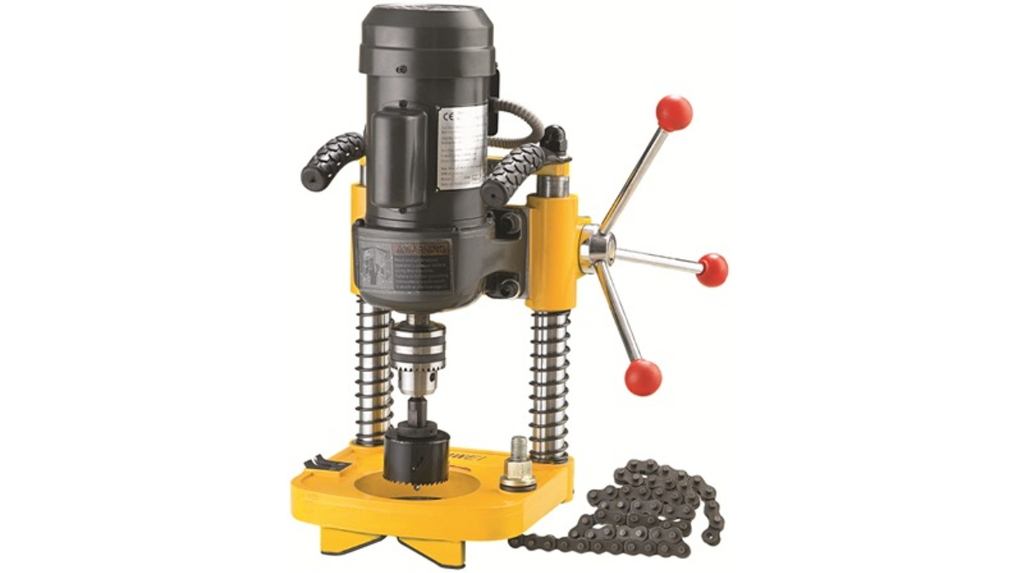 Logo Hole Cutting Machine
