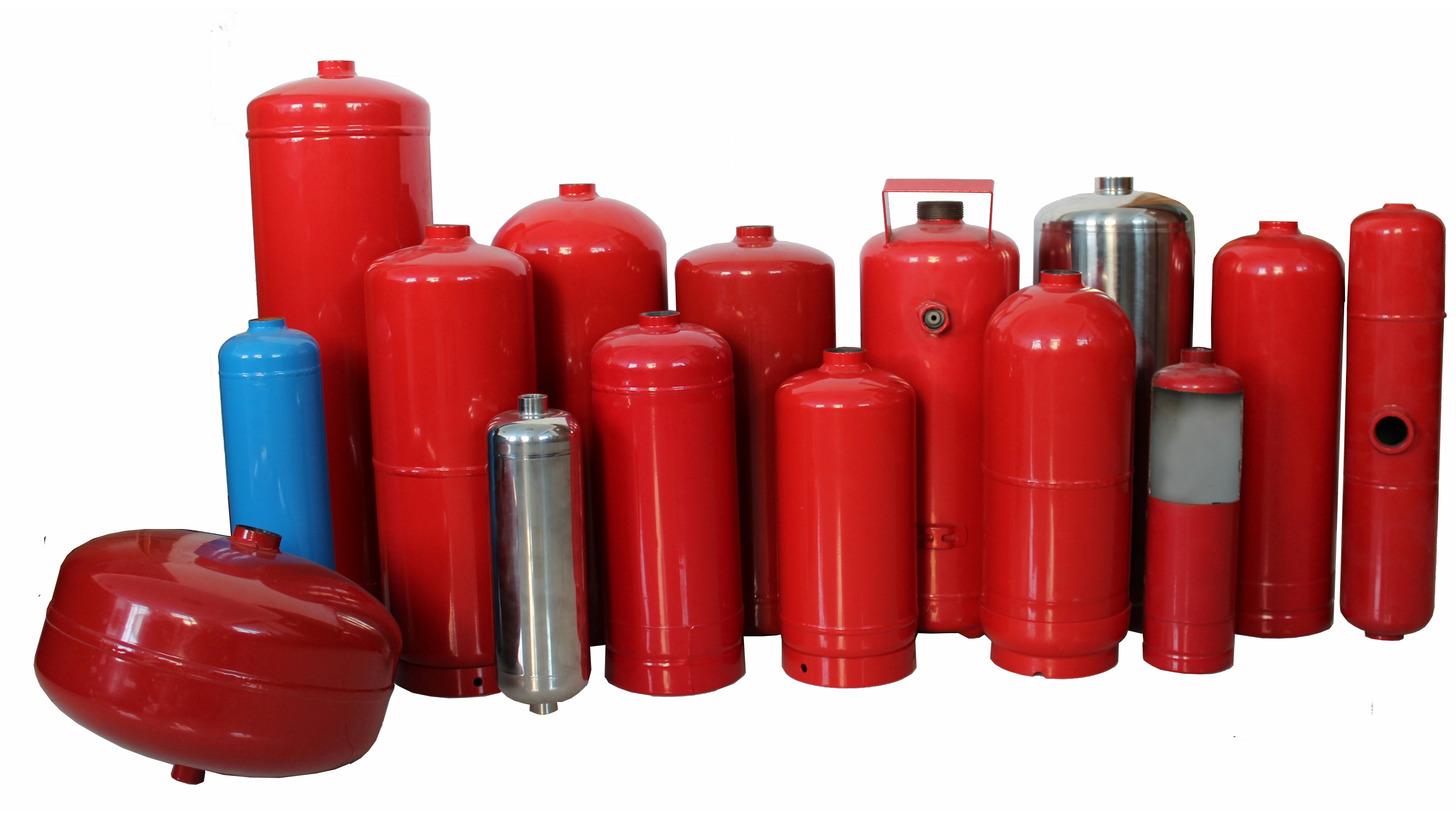 Logo Fire Extinguisher Cylinder