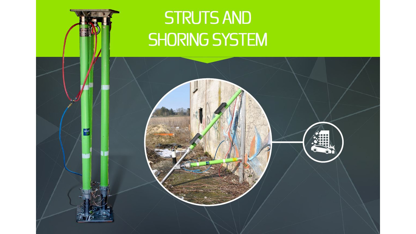 Logo STRUTS AND SHORING SYSTEM