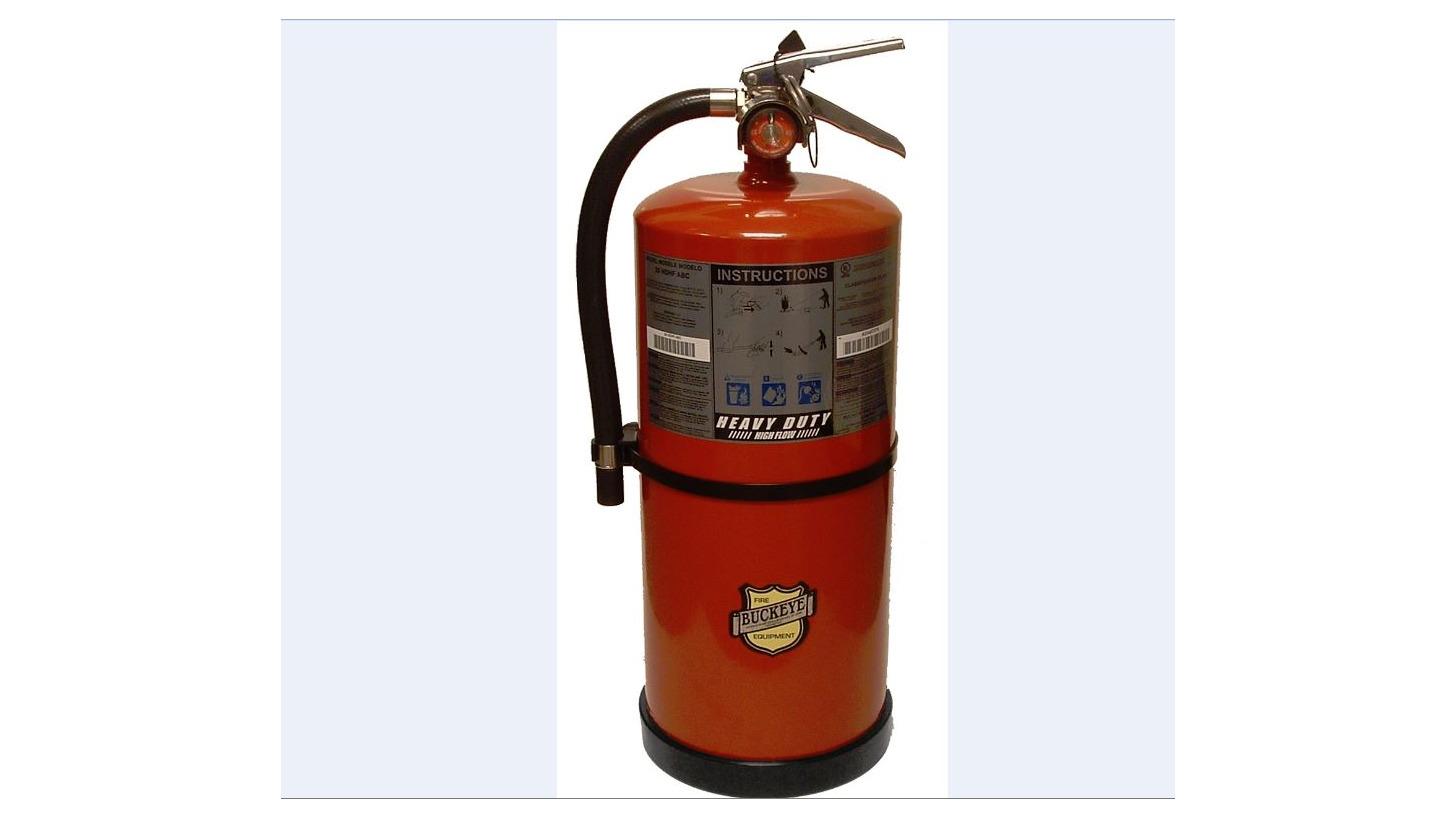 Logo Heavy Duty High Flow Extinguishers