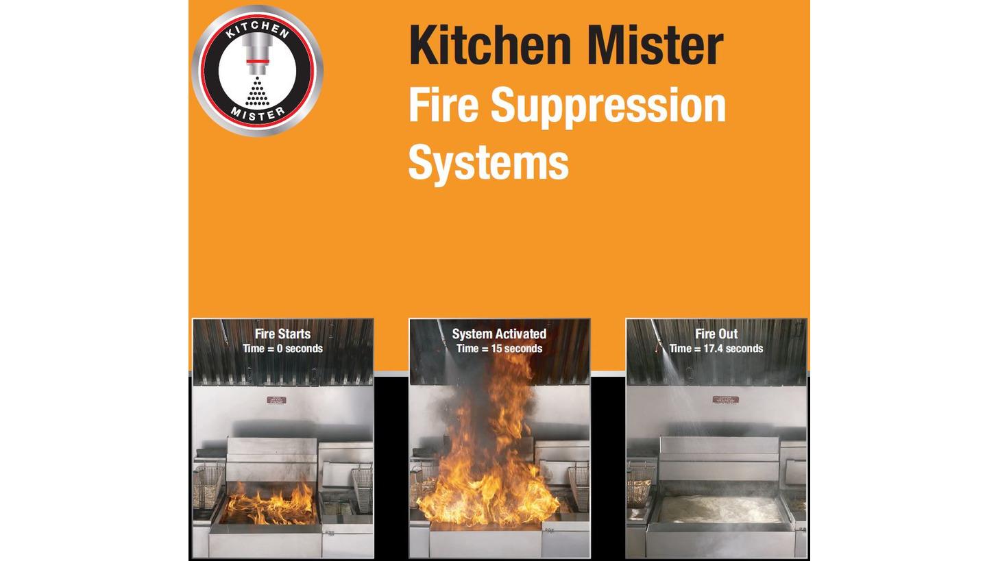 Logo Kitchen Mister Restaurant Fire Suppress