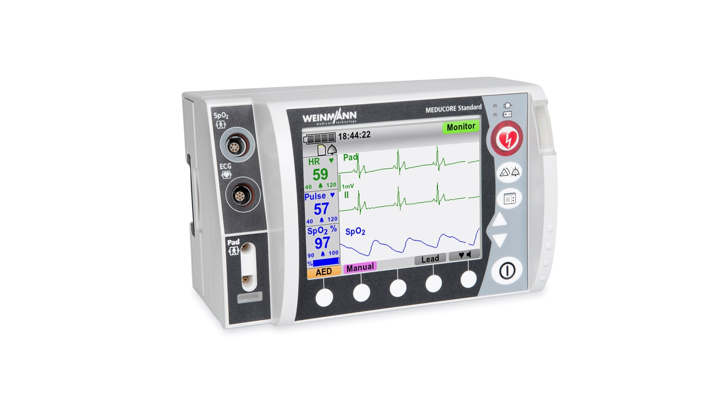 Logo MEDUCORE Standard - Monitor/Defibrillator