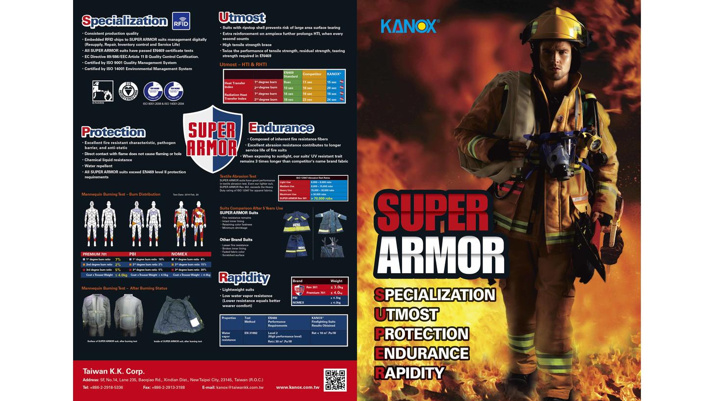 Logo SUPER ARMOR Premium 701-I