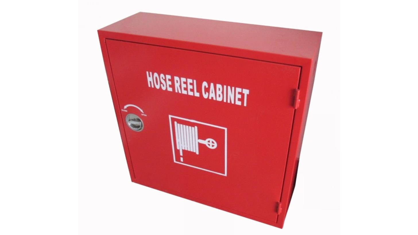 Logo Hose Reel Cabinet
