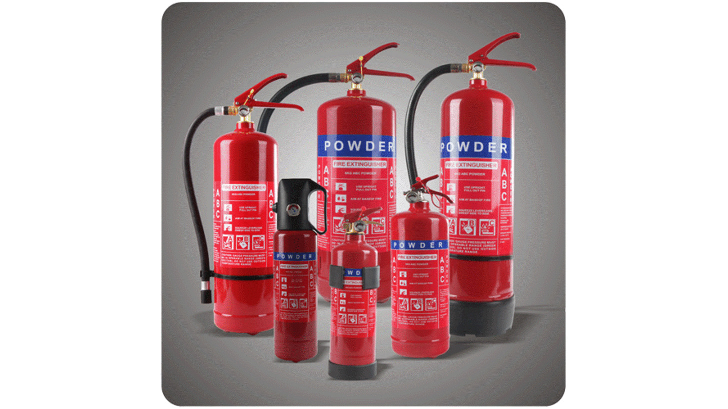 Logo Dry Powder Fire Extinguisher