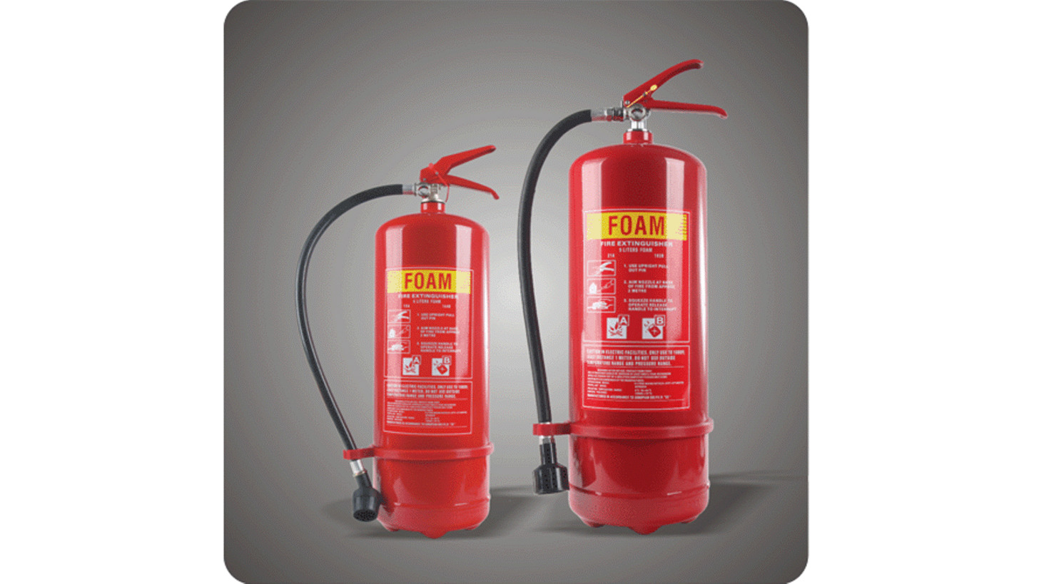 Logo Foam & Water Fire Extinguishers