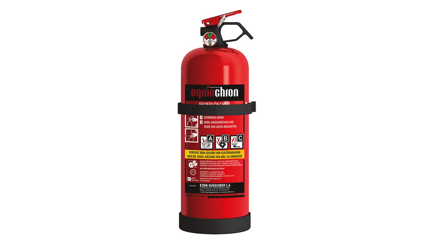 Logo Powder extinguisher 2 kg