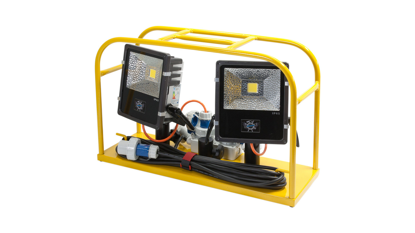 Logo Fire brigade LED floodlight container