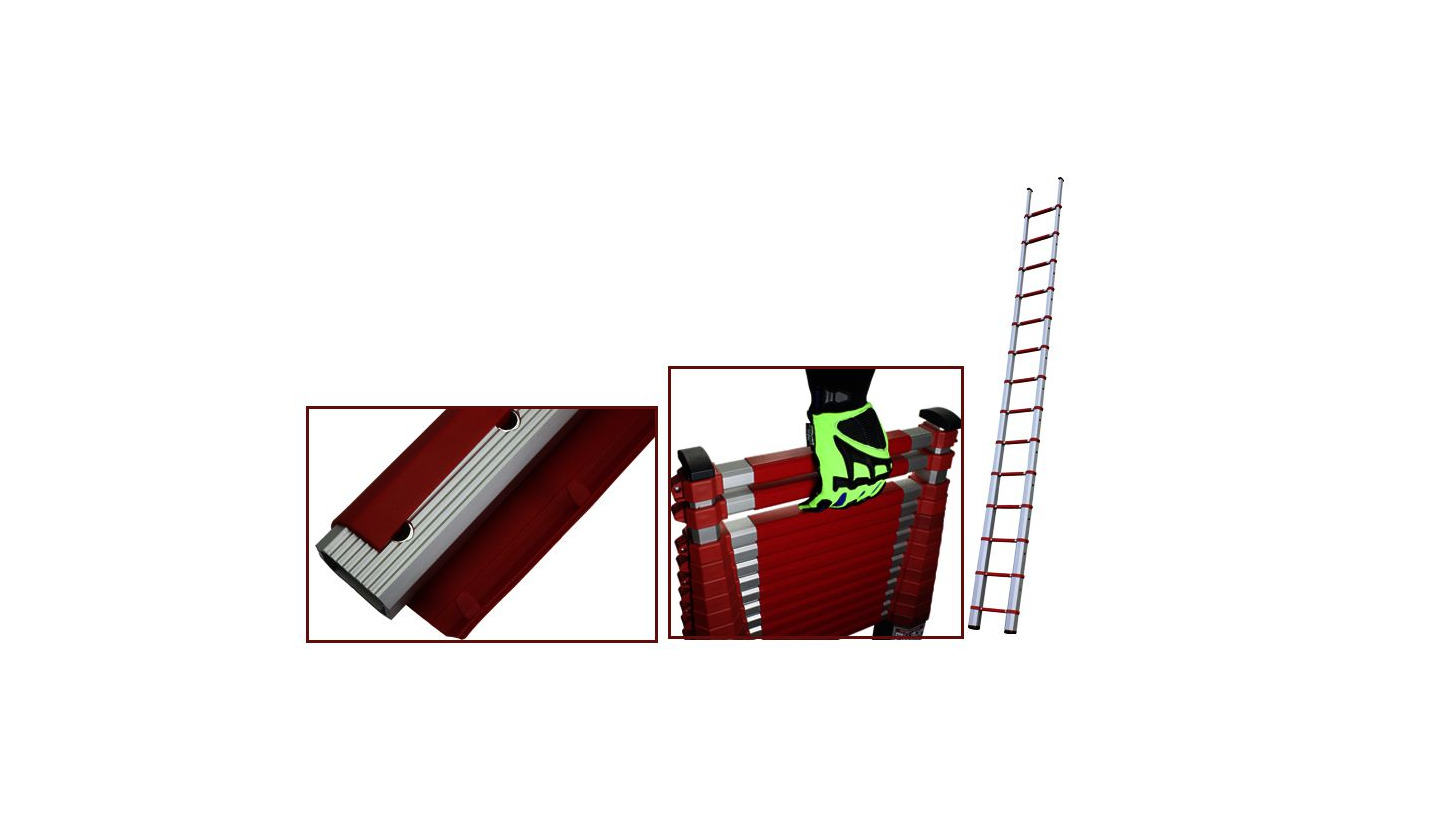 Logo Telescopic ladder with 2-person-license