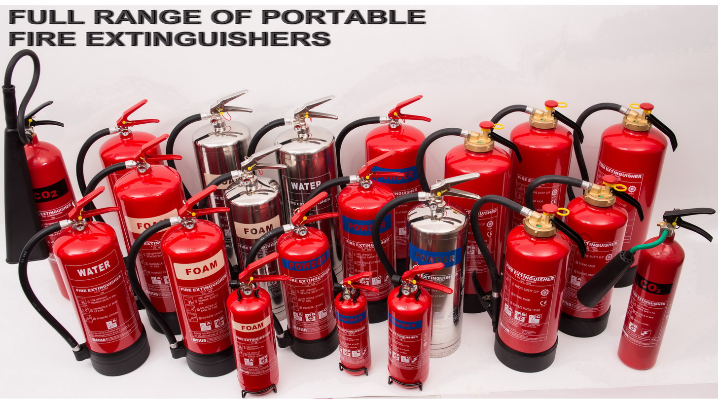 Logo Portable Fire Extinguishers