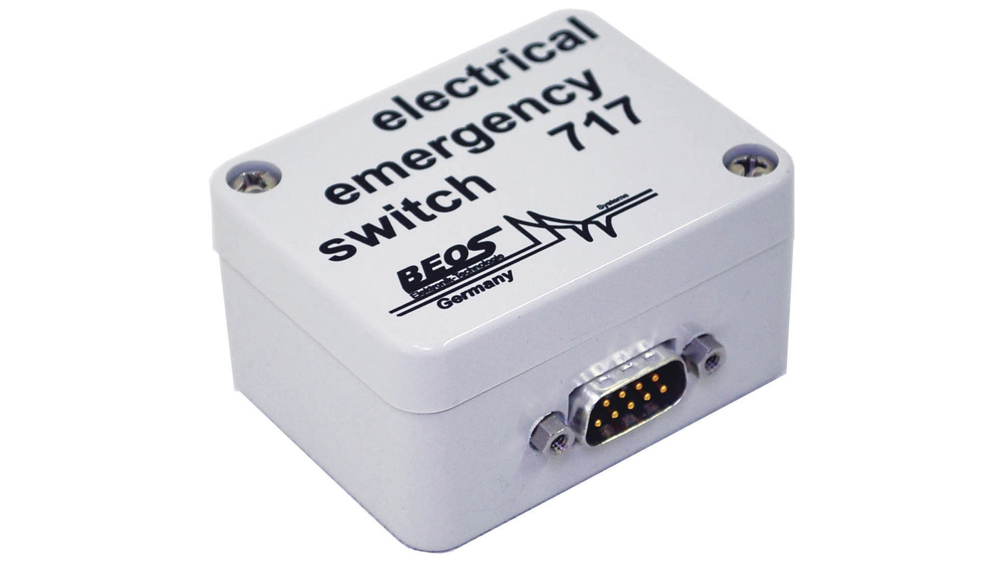Logo electrical emergency switch 717