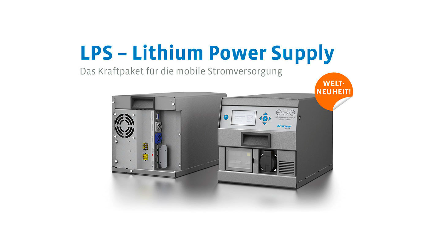 Logo LPS - Lithium Power Supply