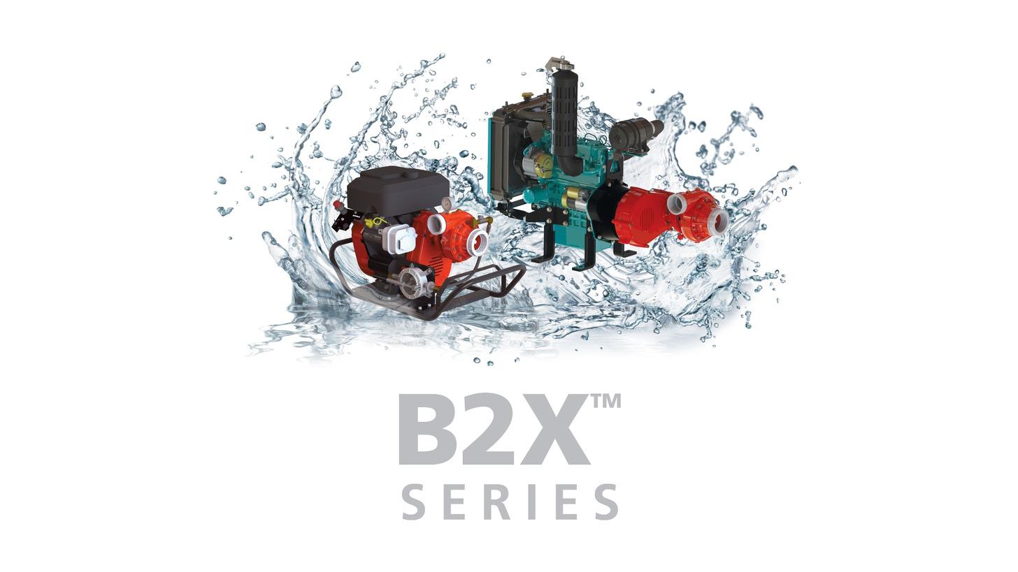 Logo B2X Series  MID-RANGE 2-STAGE FIRE PUMP