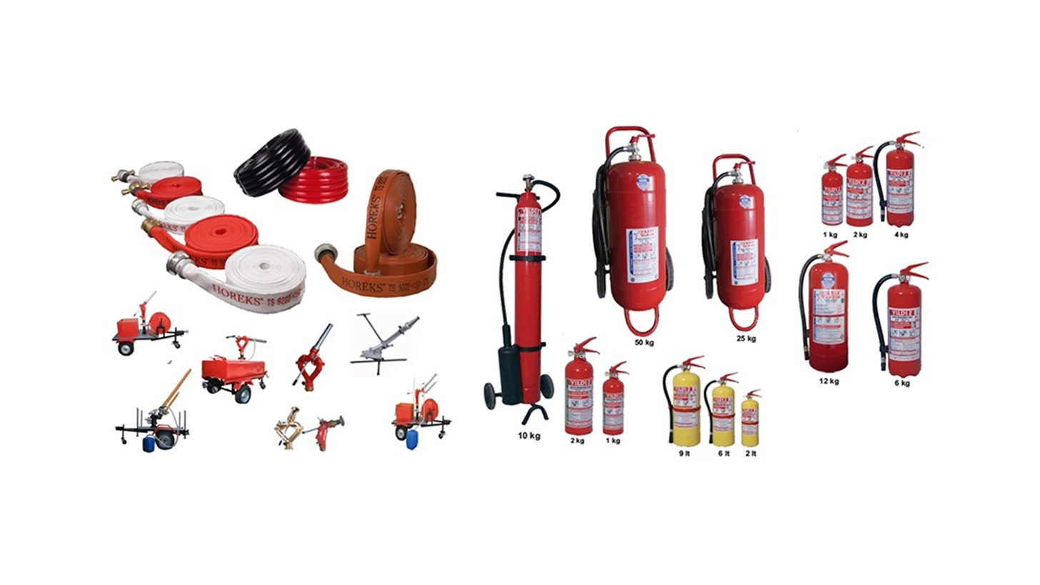Logo HOREKS HOSES, EXTINGUISHERS, MONITORS