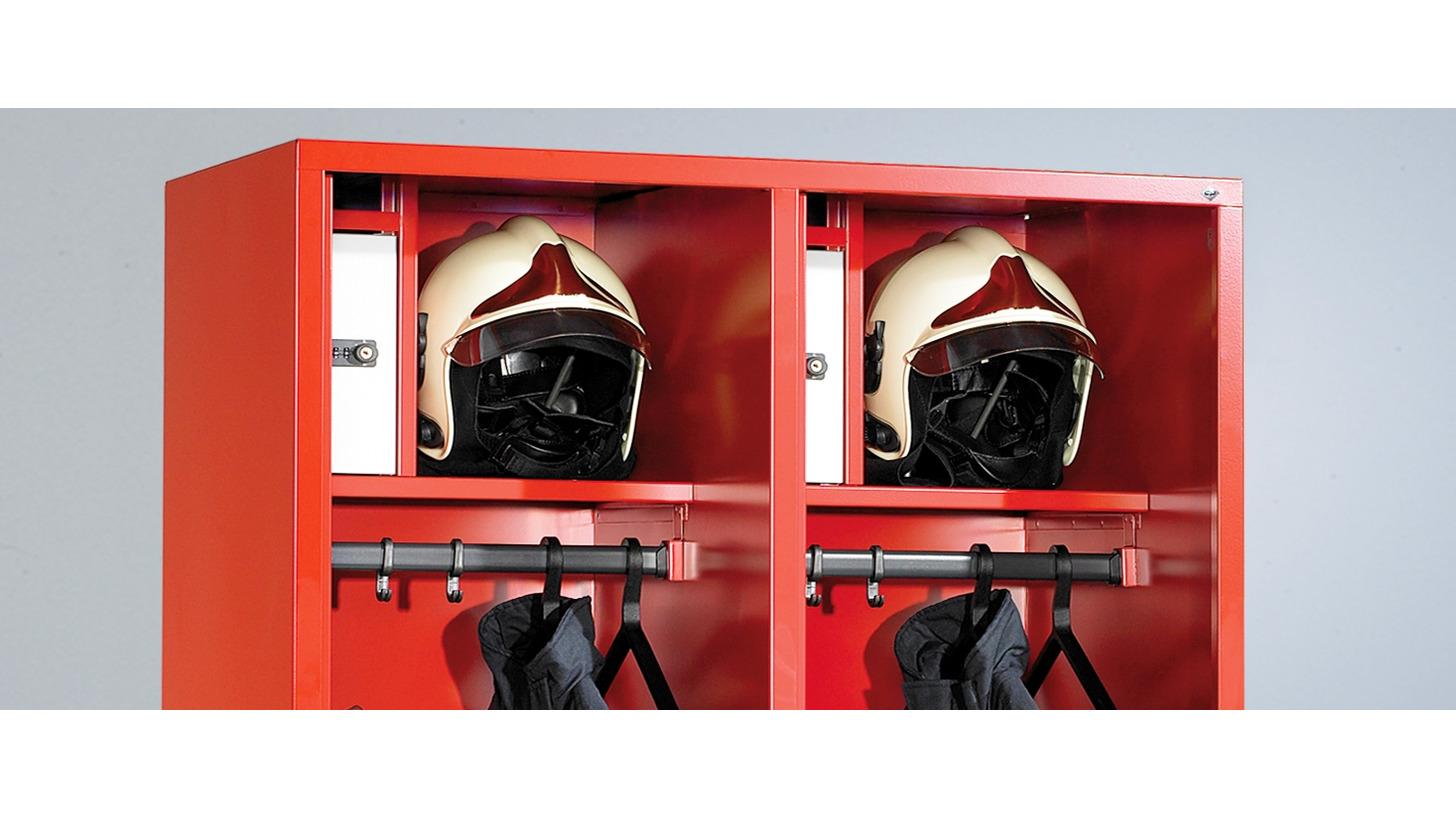 Logo Die neuen Evolo-Feuerwehrschränke