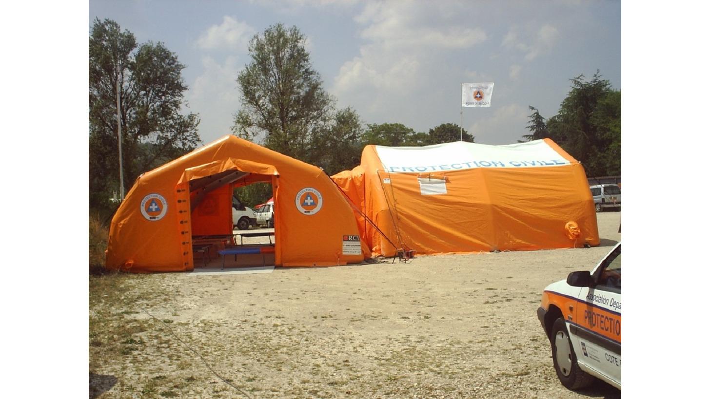 Logo Aufblasbare Zelte