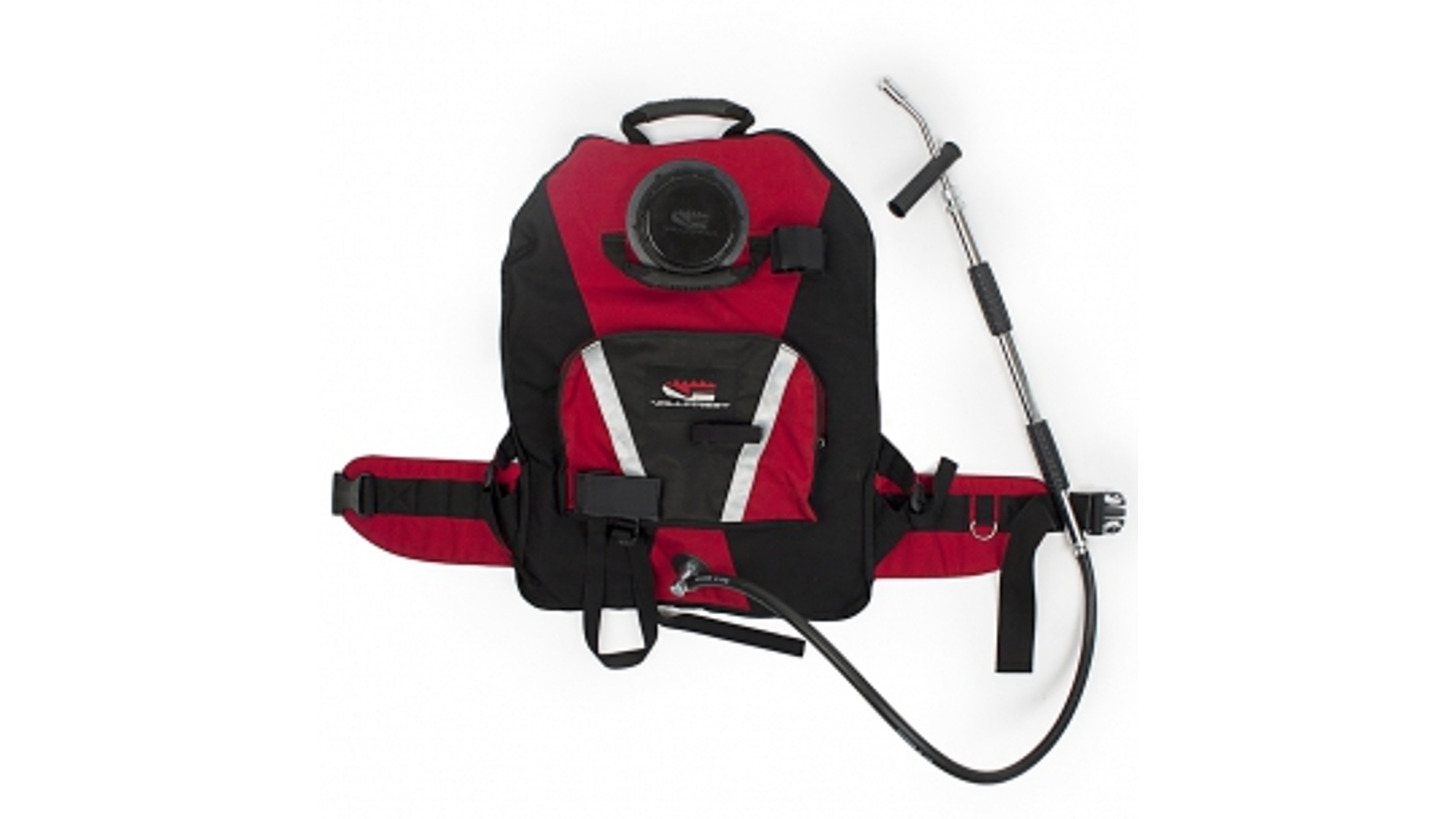 Logo Extinguisher water backpack