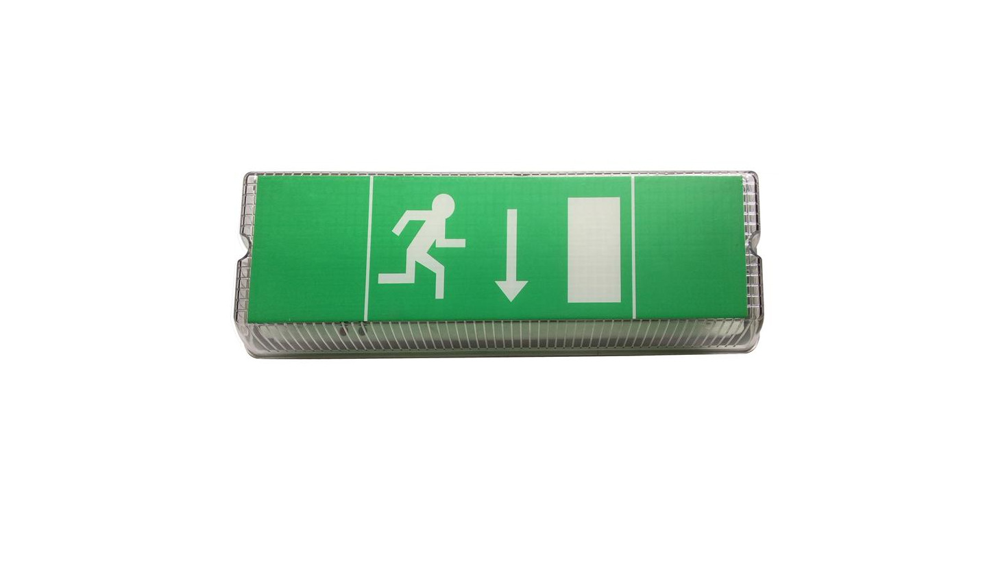Logo Emergency Exit Sign