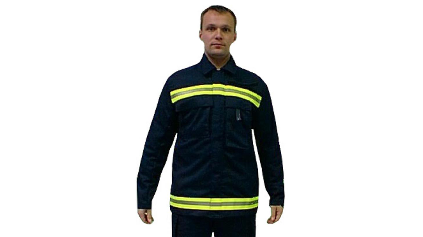 """Logo Feuerwehr - Dienstjacke """"GRISU DRESDEN«"""
