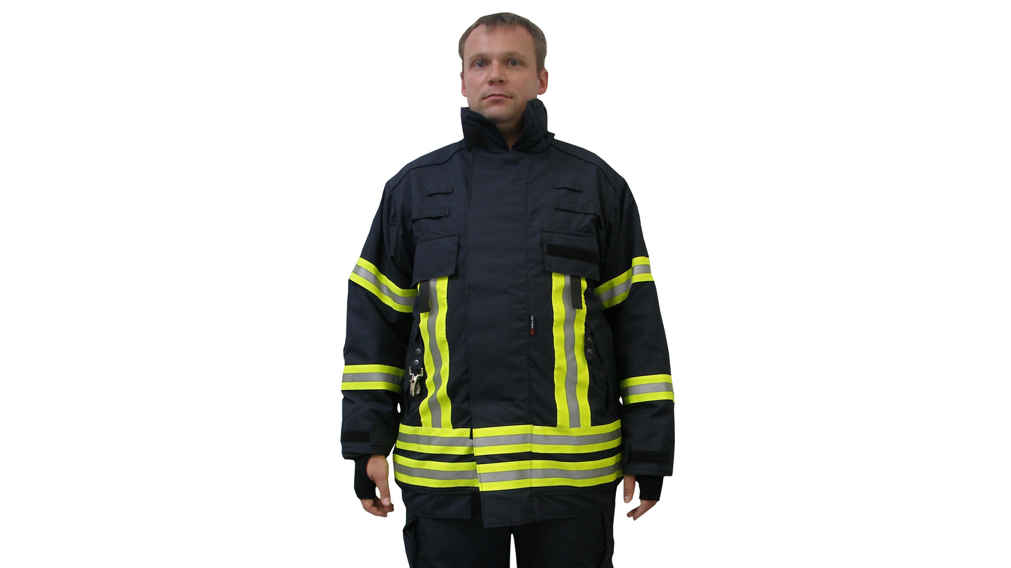 Logo Fire Fighting Suit according to EN 469