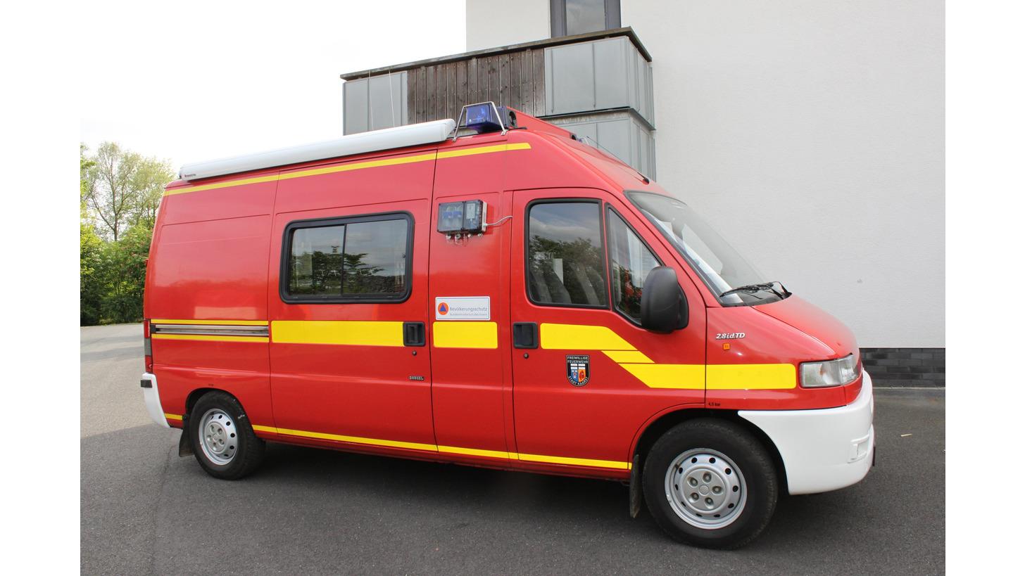 Logo Training unit teledos for CBRN-vehicles