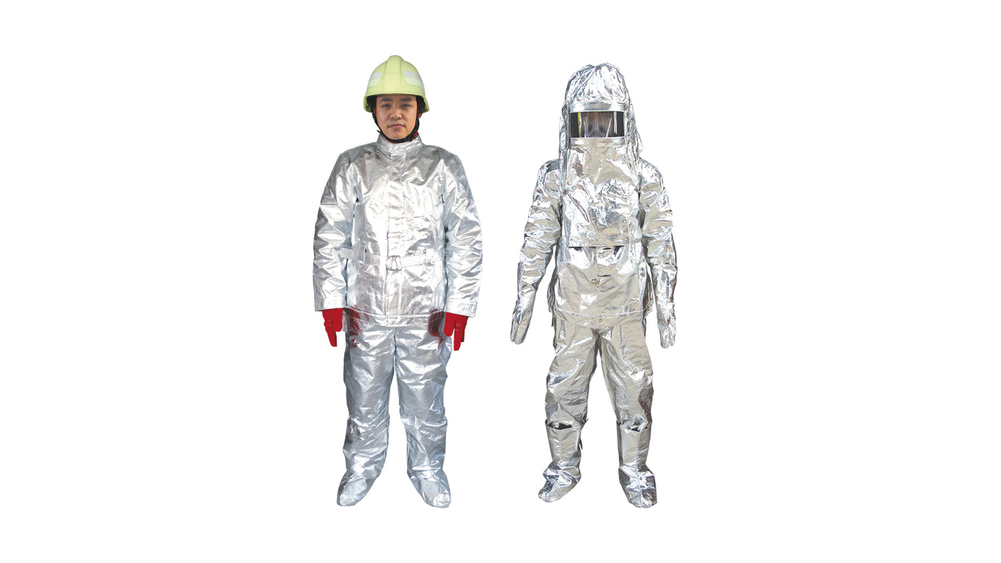 Logo Fireman Protective Suit