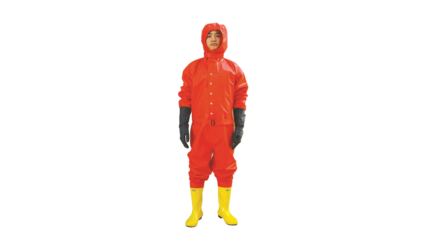 Logo Chemical Protective Suit