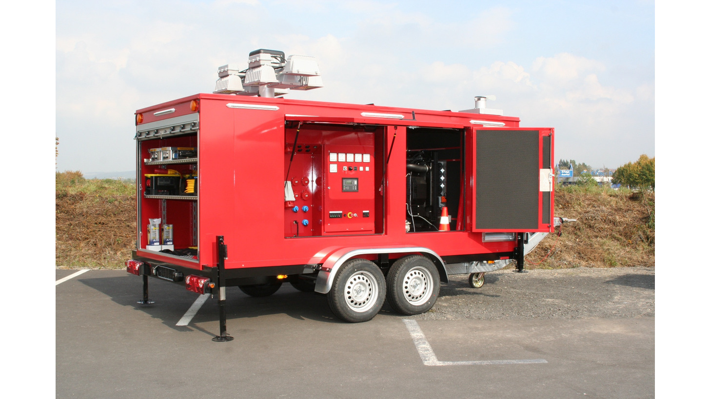 Logo Mobile Power Generator and Floodlight Units