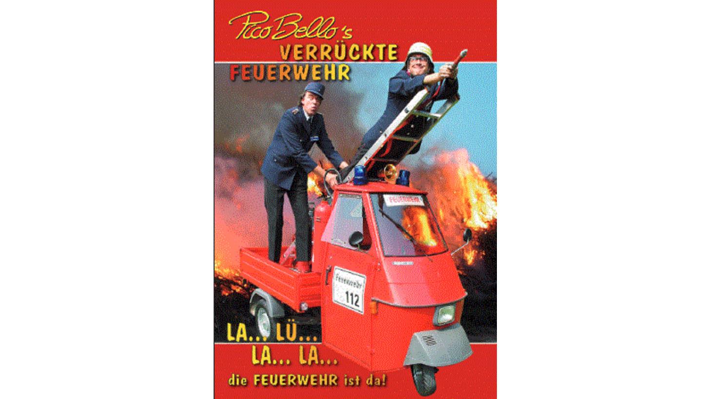 """Logo PICO BELLOs """"Verrückte Feuerwehr"""""""