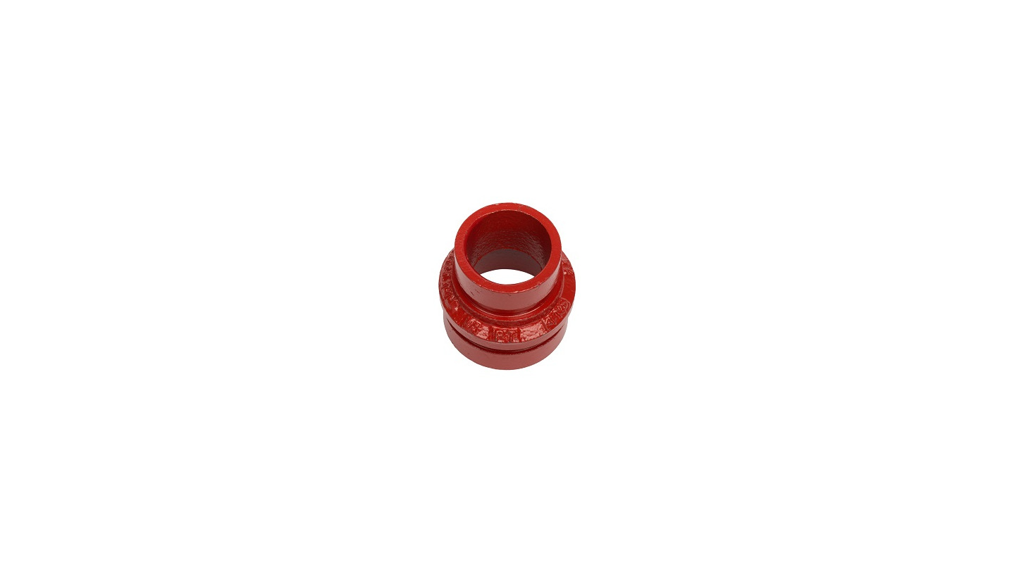 Logo Grooved concentric reducer