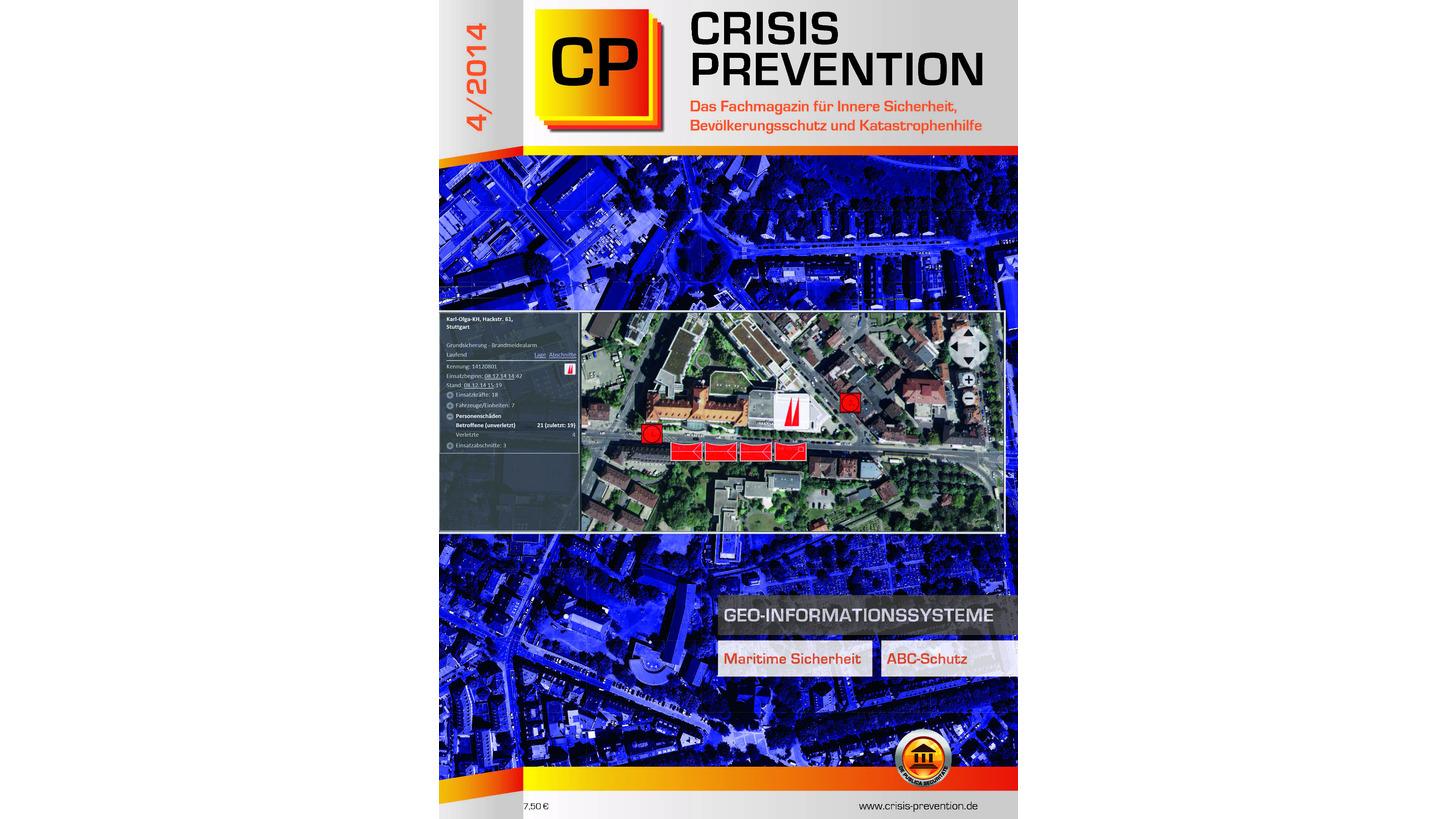 Logo CRISIS PREVENTION Ausgabe 4/2014